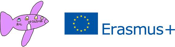 All Inclusive and Erasmus+ logos.