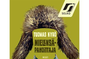 Selkokirjakummit Tuomas Kyrö ja Enni Mustonen Helsingin kirjamessuilla