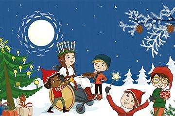 Hyvää joulumieltä Papunetin joulukalenterista