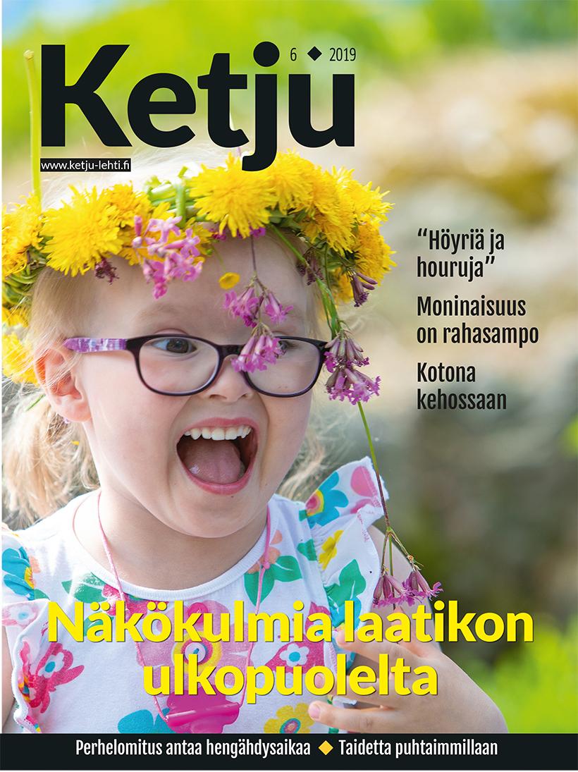 Ketju-lehden 6/2019 kansi