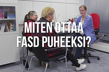 Miten ottaa FASD puheeksi?