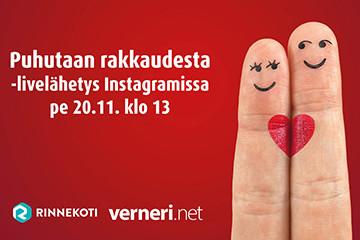 Puhutaan rakkaudesta Instagramissa 20.11.