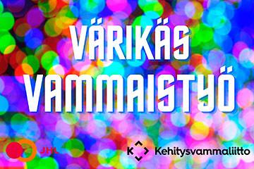 Värikäs vammaistyö -teemaviikko sosiaalisessa mediassa 23.-27.11.2020