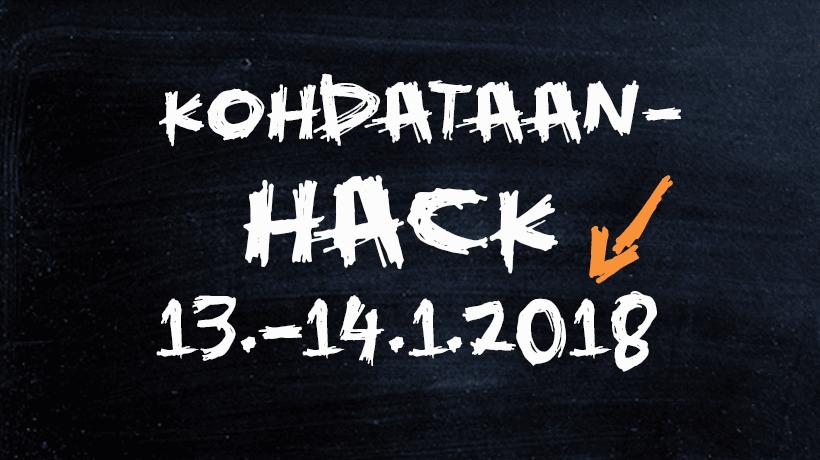 Kohdataan-hack 13.-14.1.2018