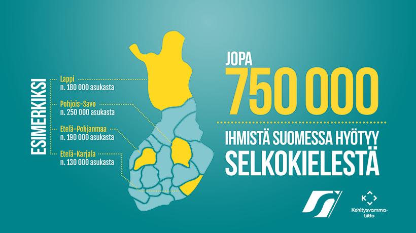 Jopa 750 000 ihmistä Suomessa hyötyy selkokielestä