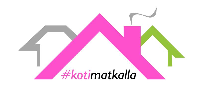 #kotimatkalla-hankkeen logo