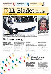 LL-Bladet 19/2016 -kansi.