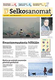 Selkosanomat 17/2016 -kansi.