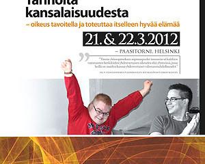 Tarinoita kansalaisuudesta -seminaarit maaliskuussa 2012
